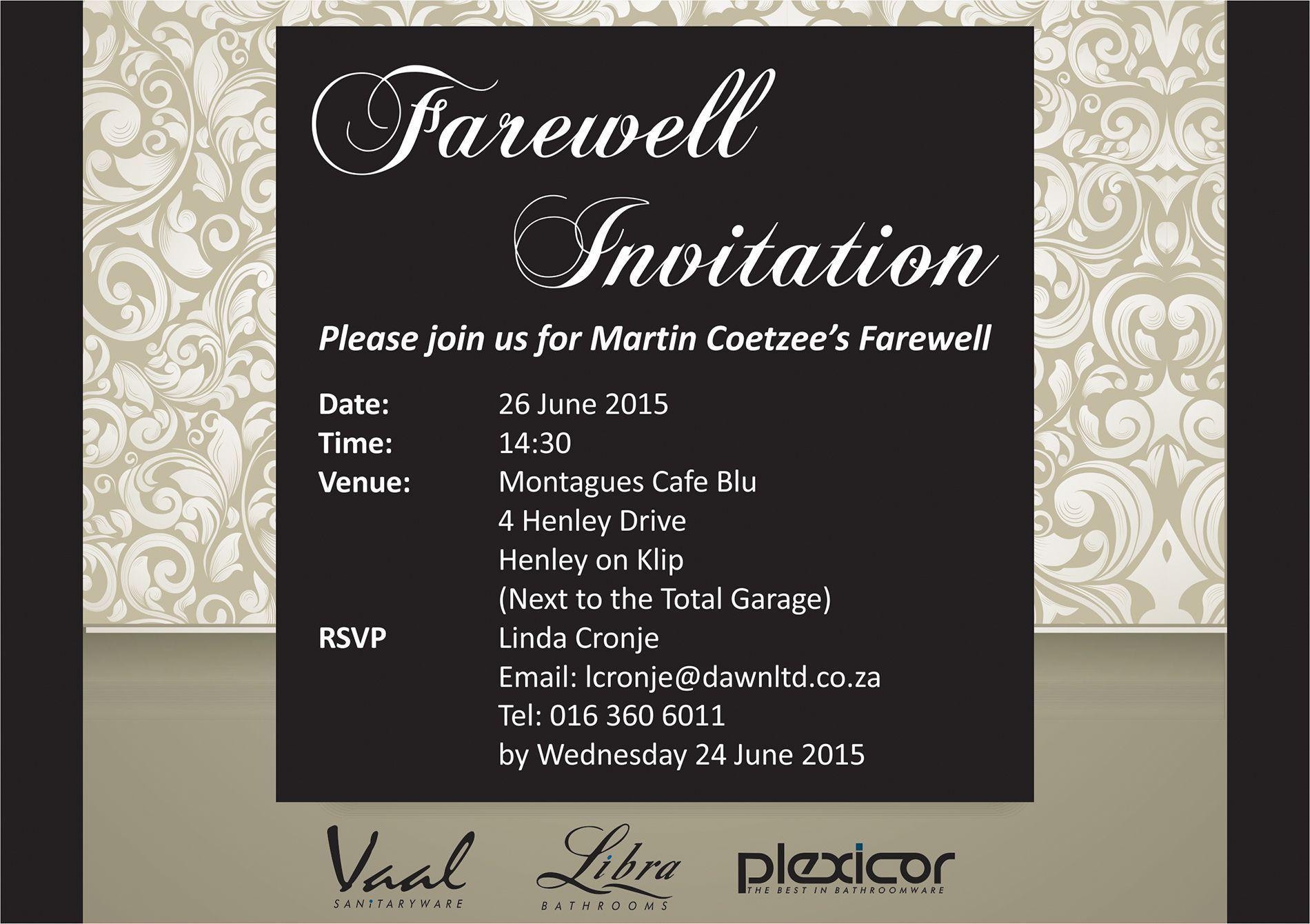 Invitation Event Card