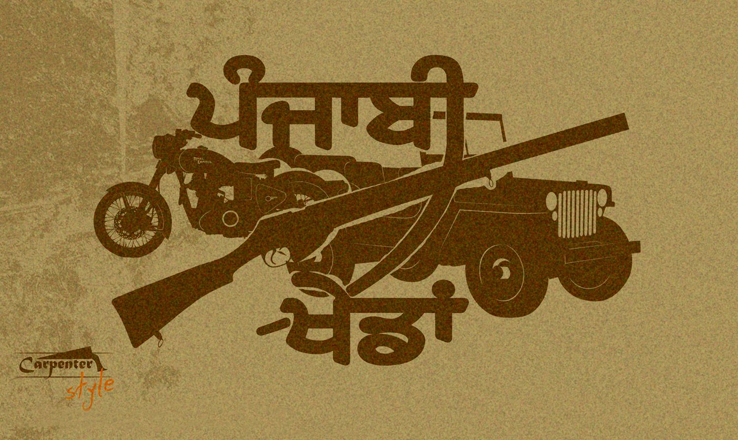 This for Punjabi     with love      Bullet Jeep Donali