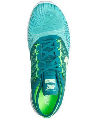 0d189972001e Nike Women s Flex Adapt Tr Running Sneakers from Finish Line - Green ...