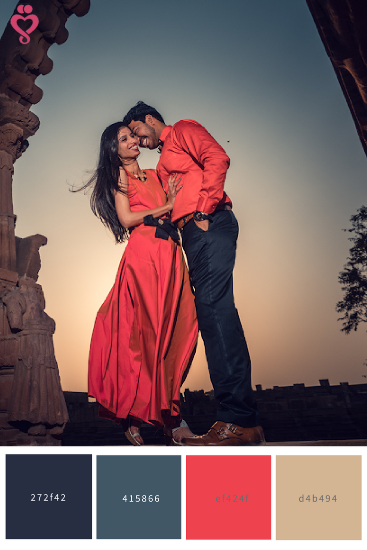 Amazing Color Palette for your Love-Story Shoot! Save to