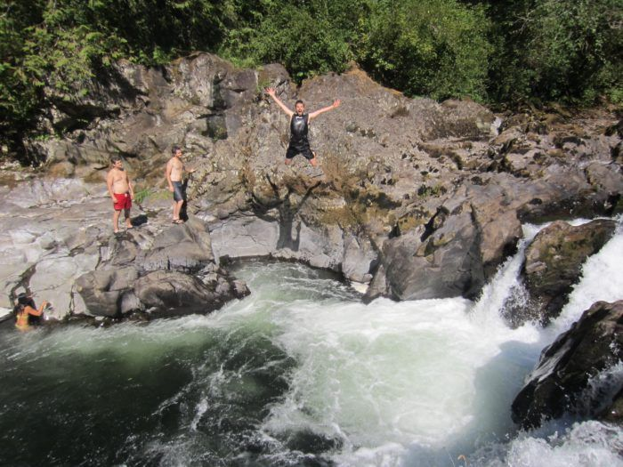 These 4 Waterfall Swimming Holes In Washington Are Perfect For A Summer Day Washington Waterfalls Swimming Holes Washington Travel
