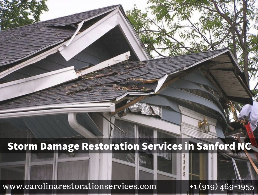 Sanford nc storm damage restoration damage restoration