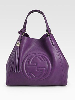 68223e19a44e Gorgeous Gucci Purple Purse!