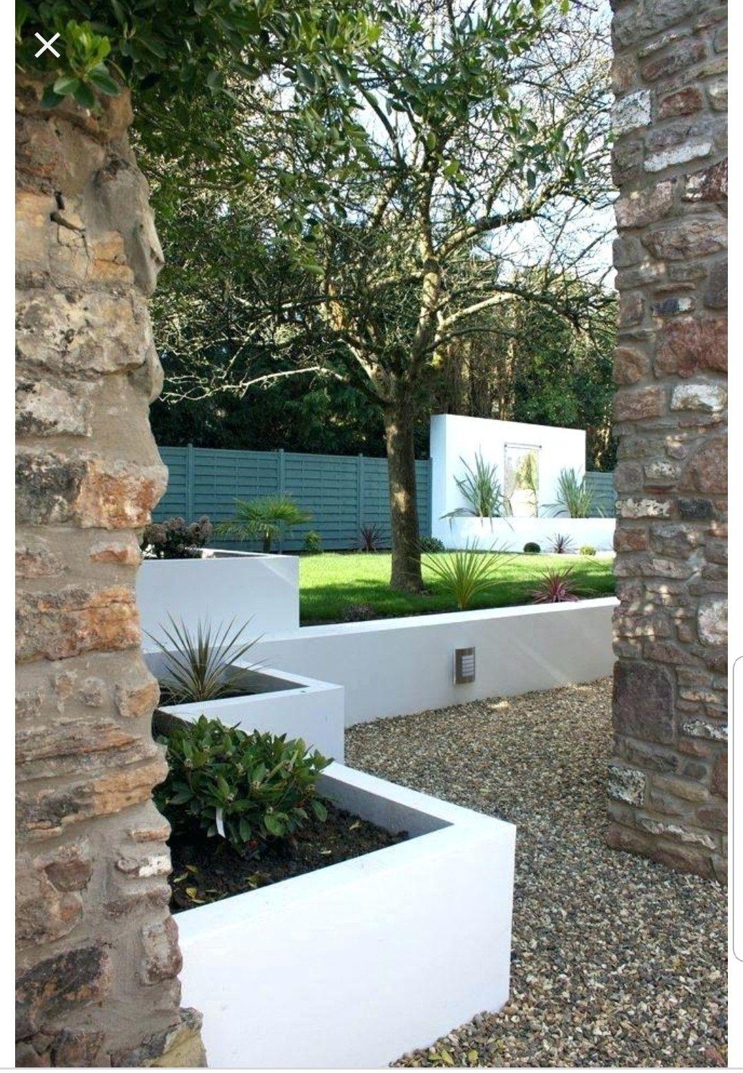 Pin By Maldonado On Garden Modern Garden Contemporary Garden House Landscape