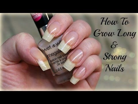 Naturally Grow Your Nails Faster Within A Week Easy Effective Home Remedy Youtube Strong Nails Grow Long Nails How To Grow Nails