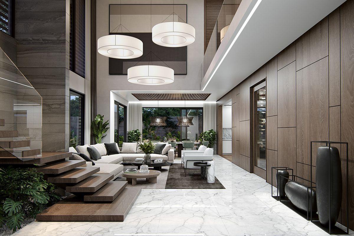 Soho 3 Residence On Behance Home Room