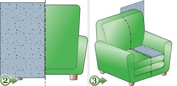 Come rifoderare poltrone e divani fai da te diy crafts pinterest diy handmade furniture - Rifoderare divano poltrone e sofa ...