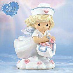 precious moments nurse figurine nurse love pinterest