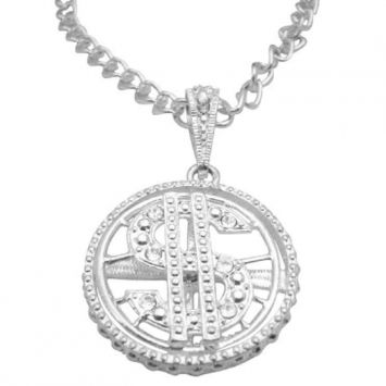 Fashion Jewelry For Everyone Collections Spinning Dollar Pendant Men Jewelry 28 $16
