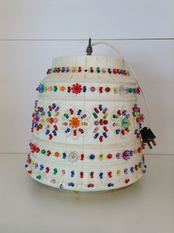 Vintage 1960s Lawnware Hanging Lamp Diy Hanging Light Outdoor Hanging Lights Hanging Lamp