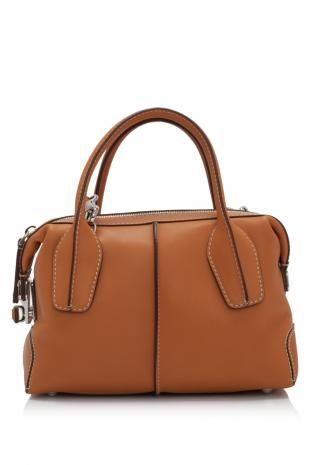 ef5869d863a Tod's D-Styling Bauletto Mini - Cognac Scurro. #handbags | Tod's ...