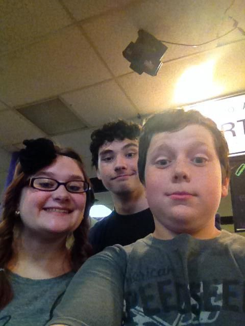 Bowling with my buds - Love it <3
