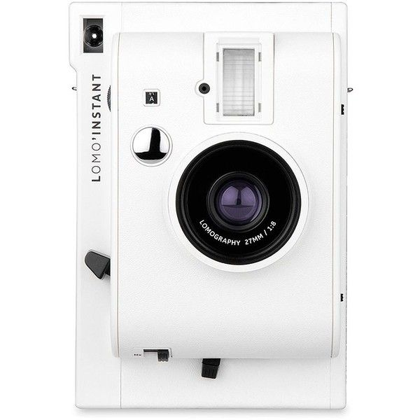Lomography Lomo Instant Camera (1 010 SEK) ❤ liked on Polyvore featuring fillers and white