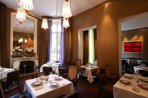 La Salle Manger Du Restaurant Apicius Paris Pinterest