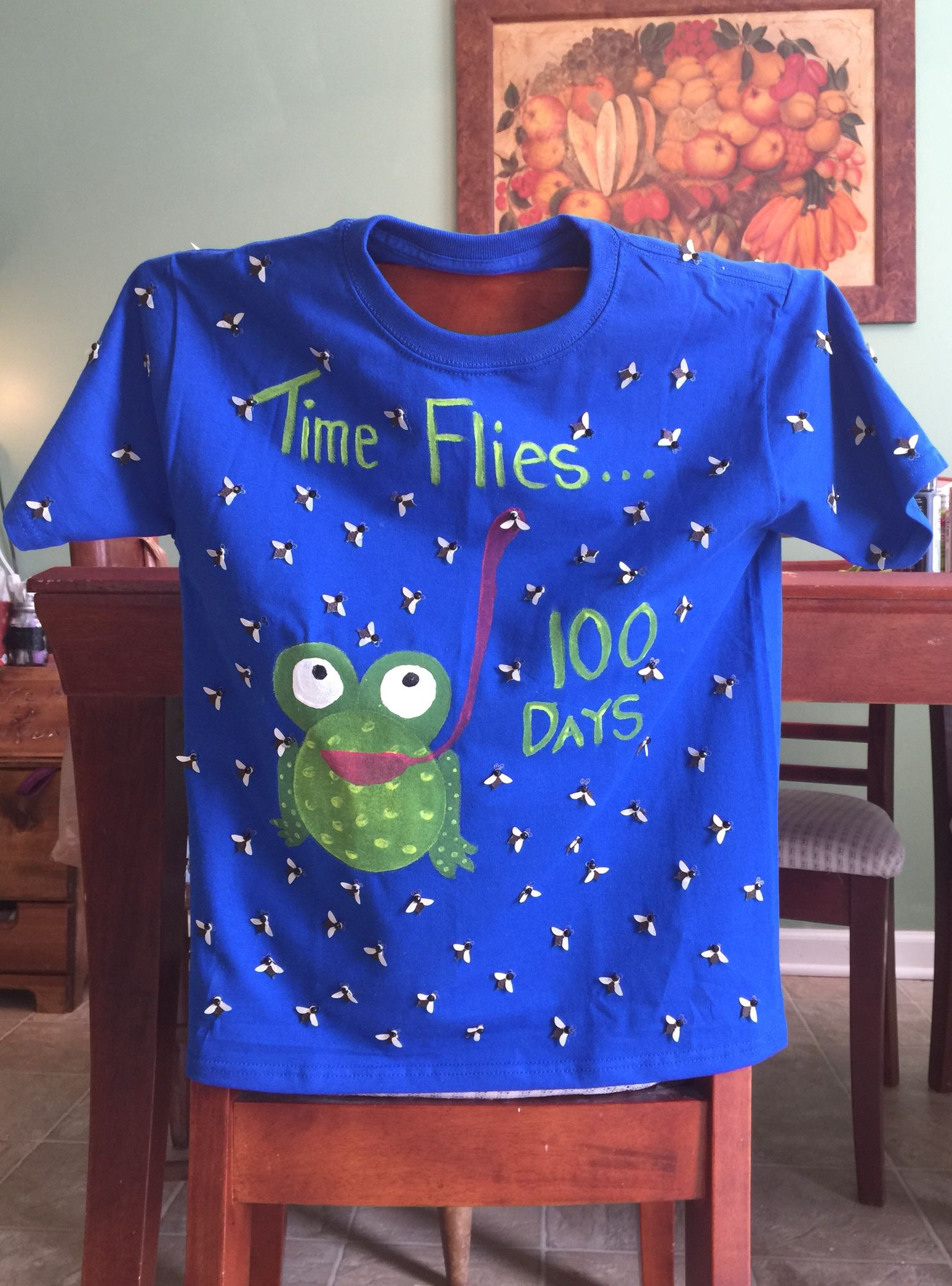 Made This For The Big Guys 100th Day Of School 100 Day Shirt