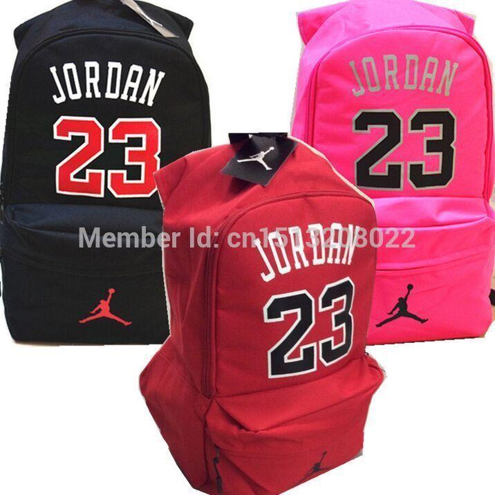 the latest f547c 57ebd Encontrar Más Mochilas Información acerca de No.23   Jordan baloncesto  mochila hombres de los