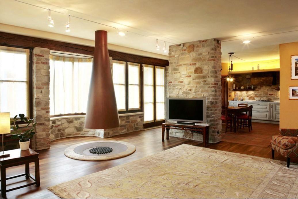 Se possediamo una casa arredata in stile rustico potremmo for Foto di case arredate