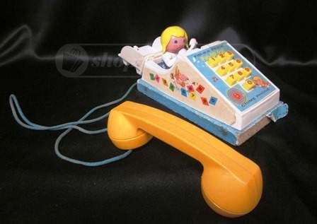 shopgoodwill.com: 1968 Fisher Price Pop-Up Pal Chime Phone