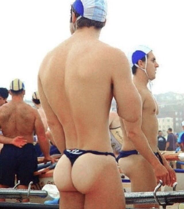 Bubble butt gay men