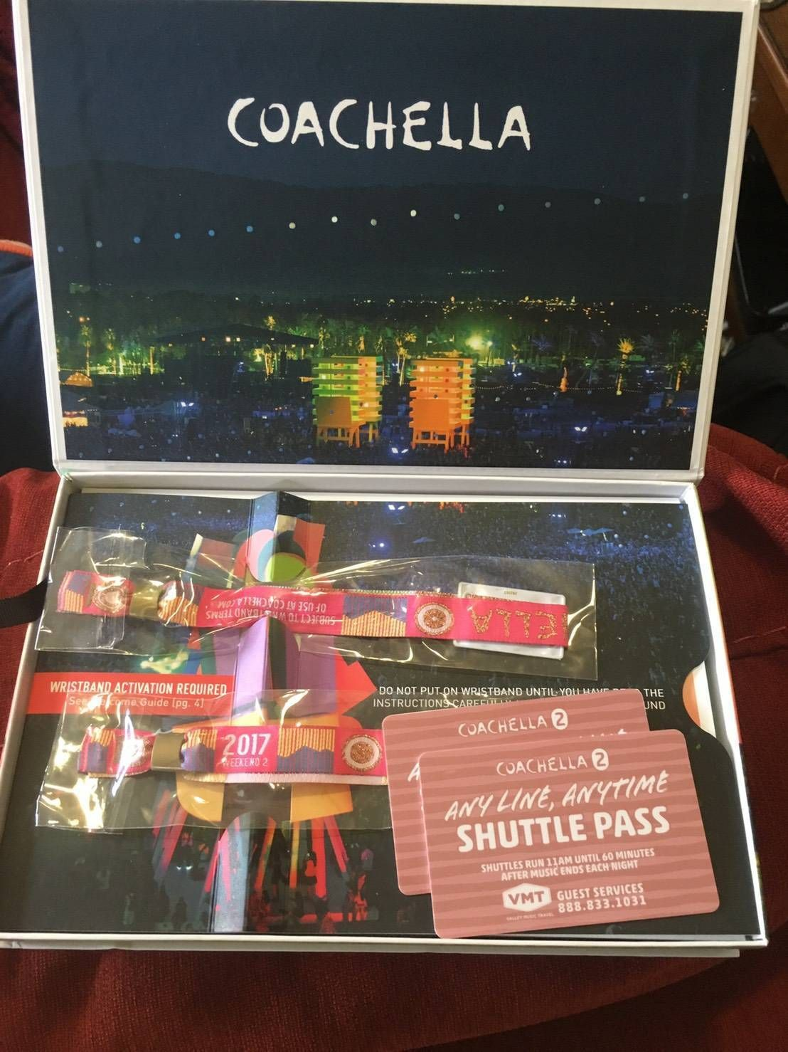 #concert - 2 GA Coachella 2017 wristbands for Weekend 2  2 shuttle passes https://t.co/hLXFG6rBaD https://t.co/F8a5jZSwEB