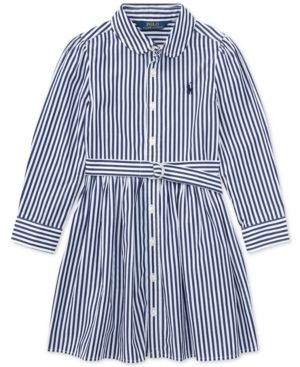 Lauren Shirtdress Navy Polo Ralph Pink wPkuTiXZOl