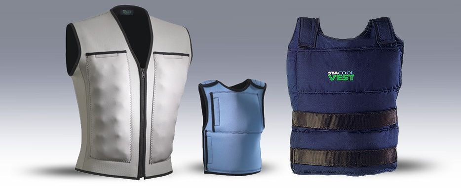 Stacool Vest Body Core Cooling System With Images Cooling Vest