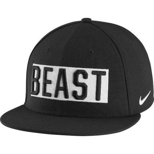 6dd38aec129 Nike Adults  Beast True Adjustable Cap (Black