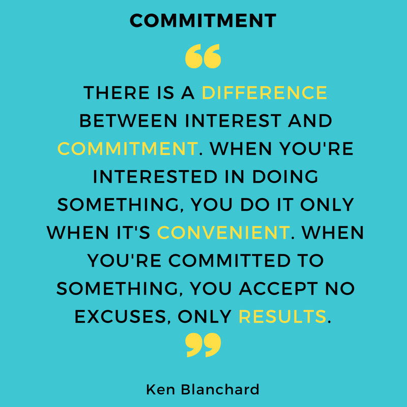 Stay committed to achieving your goals. (With images