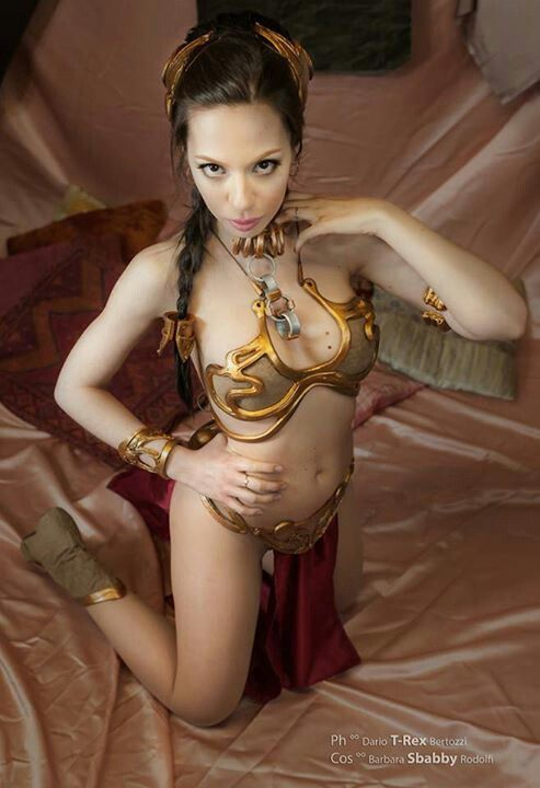 Princess leia cosplay hot
