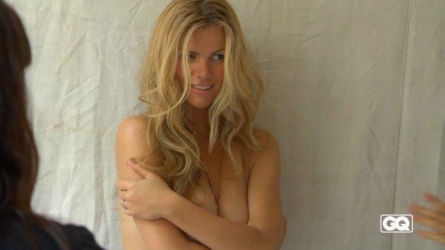 En fotos: la bella modelo Brooklyn Decker con sexy poses para GQ