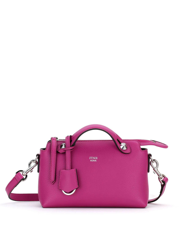 9092ac693a18 Fendi By the Way Mini Calf Satchel Bag