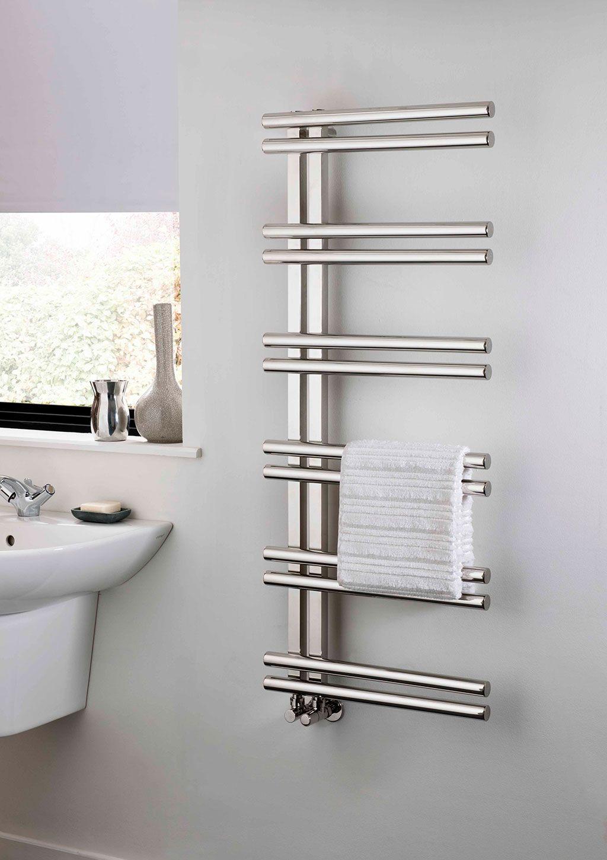 The Radiator Company - Bathroom Towel Rails - Stratos | Designer ...