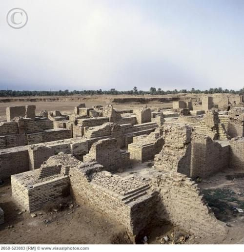 Southern Palace of King Nebuchadnezzar, Babylon Ruins, Iraq Photo by Scholz,