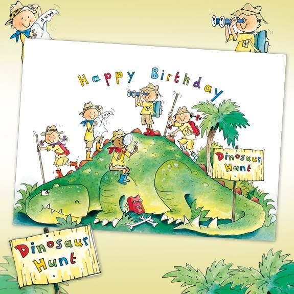 New! #Dinosaur Car #greetingcards #phoenixcards #birthday