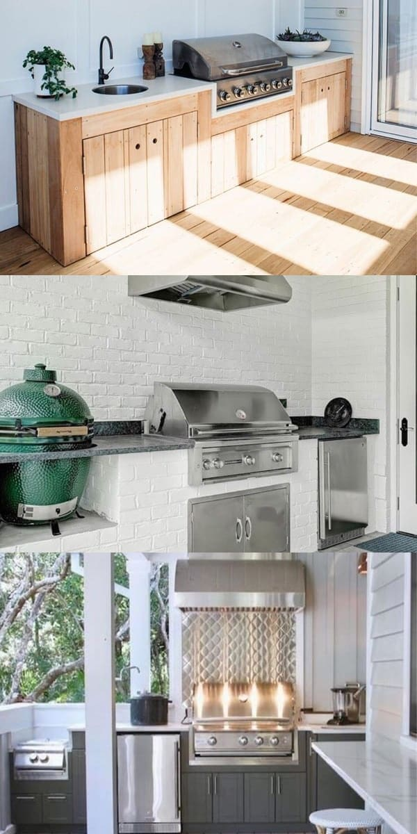 Best Outdoor Kitchen Ideas For Your Backyard In 2019 Modern Outdoor Kitchen Patio Kitchen Backyard Kitchen