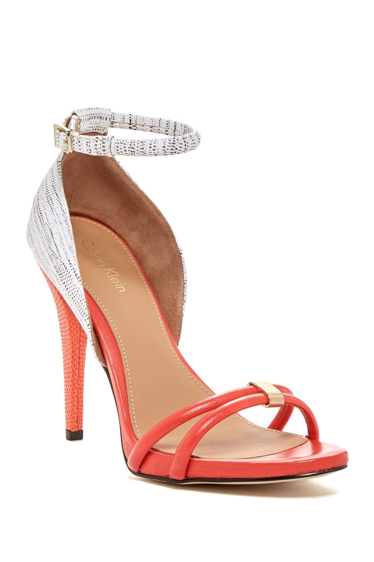 164182465c5 Calvin Klein - Nathali Open Toe Sandal at Nordstrom Rack. Free Shipping on