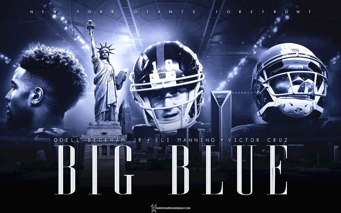 Go Big Blue New York Giants Go Big Blue New York Giants Jersey