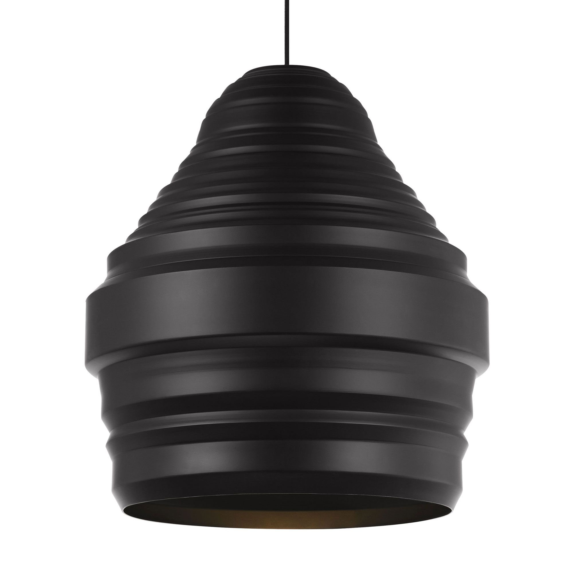 Ryker Pendant, elegantly simple yet visually complex, its