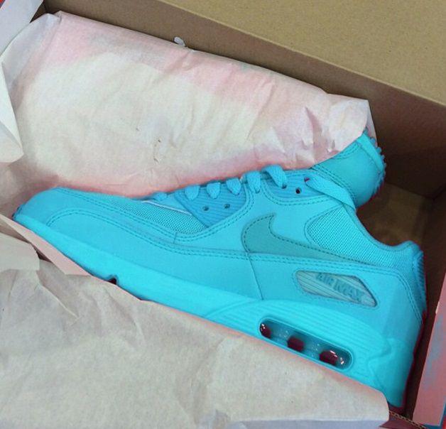 775c131db4a Nike Air Max 90 Baby Blue | Kool Brand Clothing Company | Nike air ...