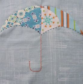 Want it, Need it, Quilt!: The desperate Housewife's Quilt - Block 13 Umbrella