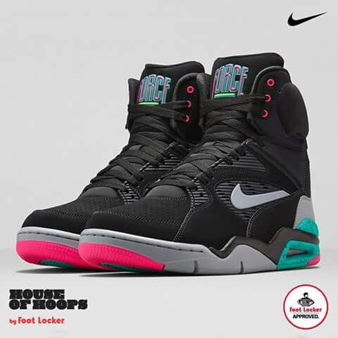 c1472801050b0 Nike Air Command Force - Black   Wolf Grey-Hyper Jade-Hyper Pink - Air 23 - Air  Jordan Release Dates
