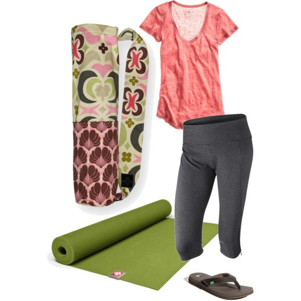 Lotus Ivory Yoga Bag, created by sassysaks @polyvore
