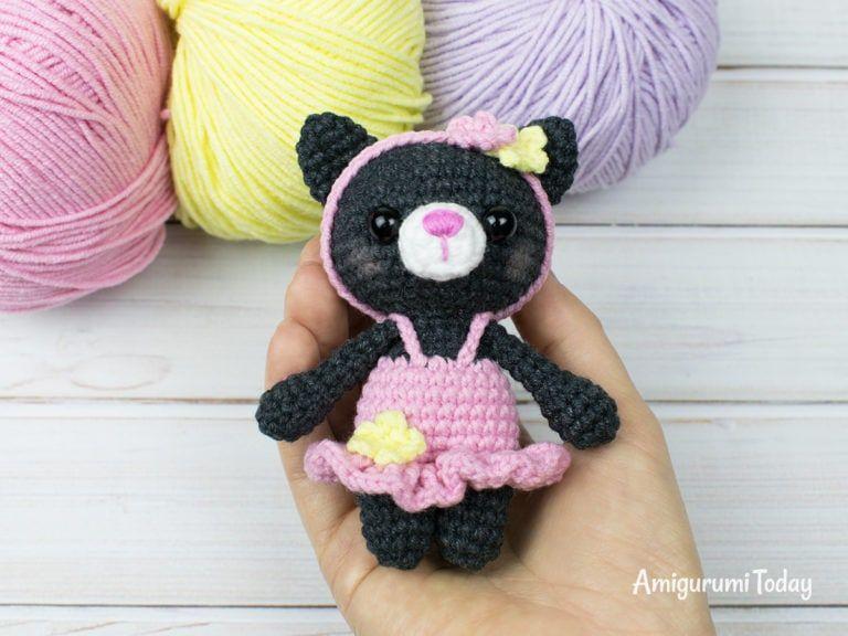 Tiny Kitty Cat Amigurumi Pattern Cat Amigurumi Crochet Bear