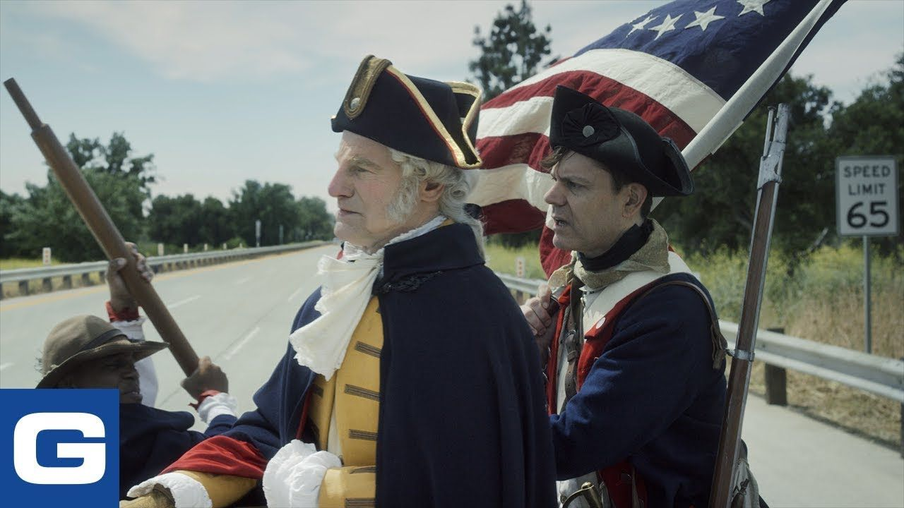 Washington Crossing The Delaware Geico Youtube Washington