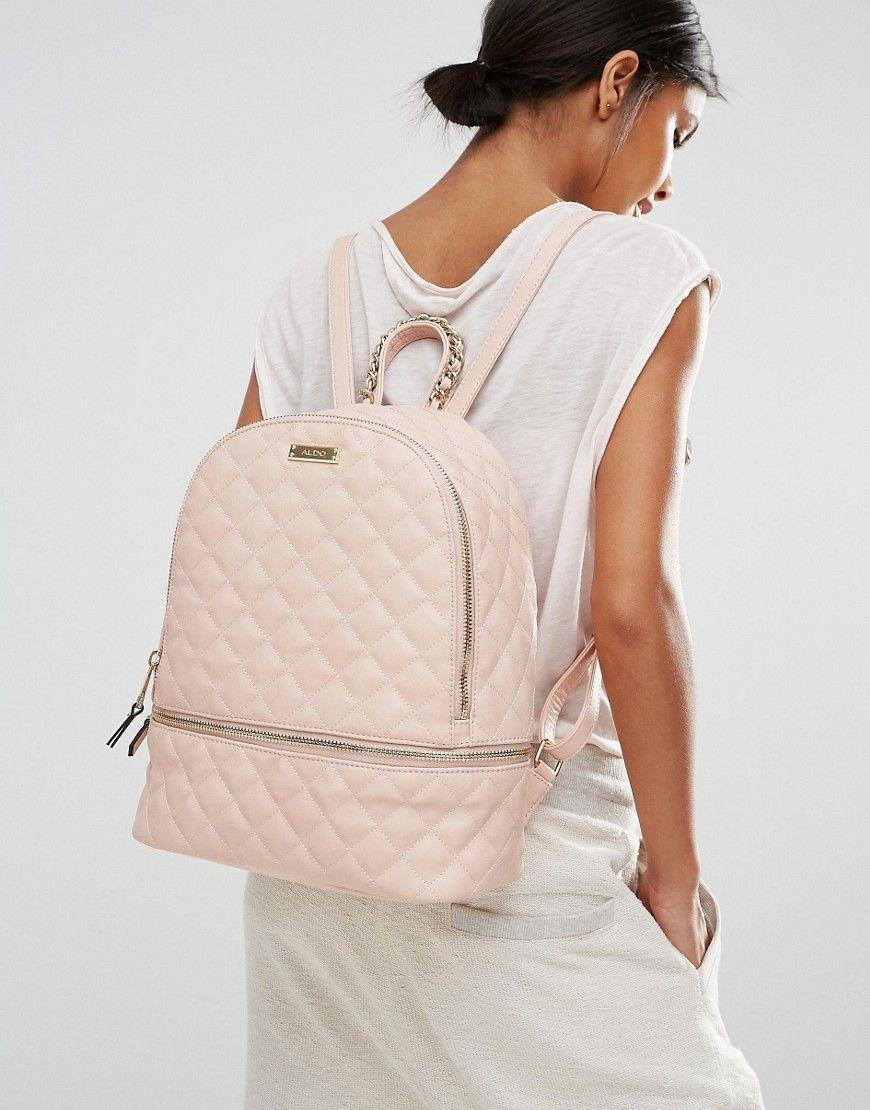 b3fd804c4e7b ALDO Quilted Backpack in Blush | backpacks | Backpacks, Fashion ...