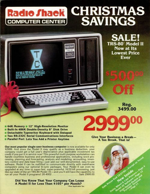 Ira Goldklang's TRS-80 Revived Site » TRS-80 Catalogs: Radio