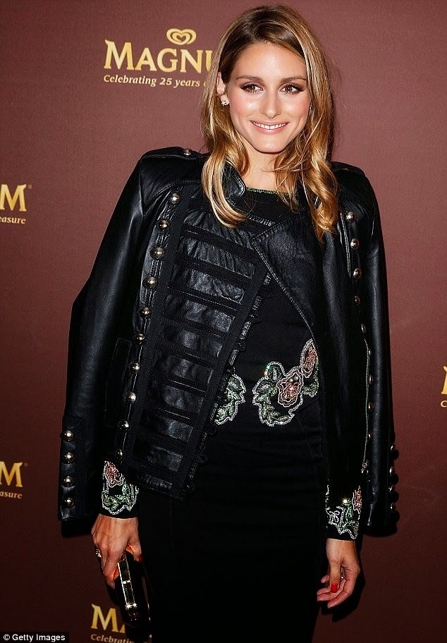 The Olivia Palermo Lookbook : Olivia Palermo at the Magnum 25th celebration at Sydney's Catalina restaurant.