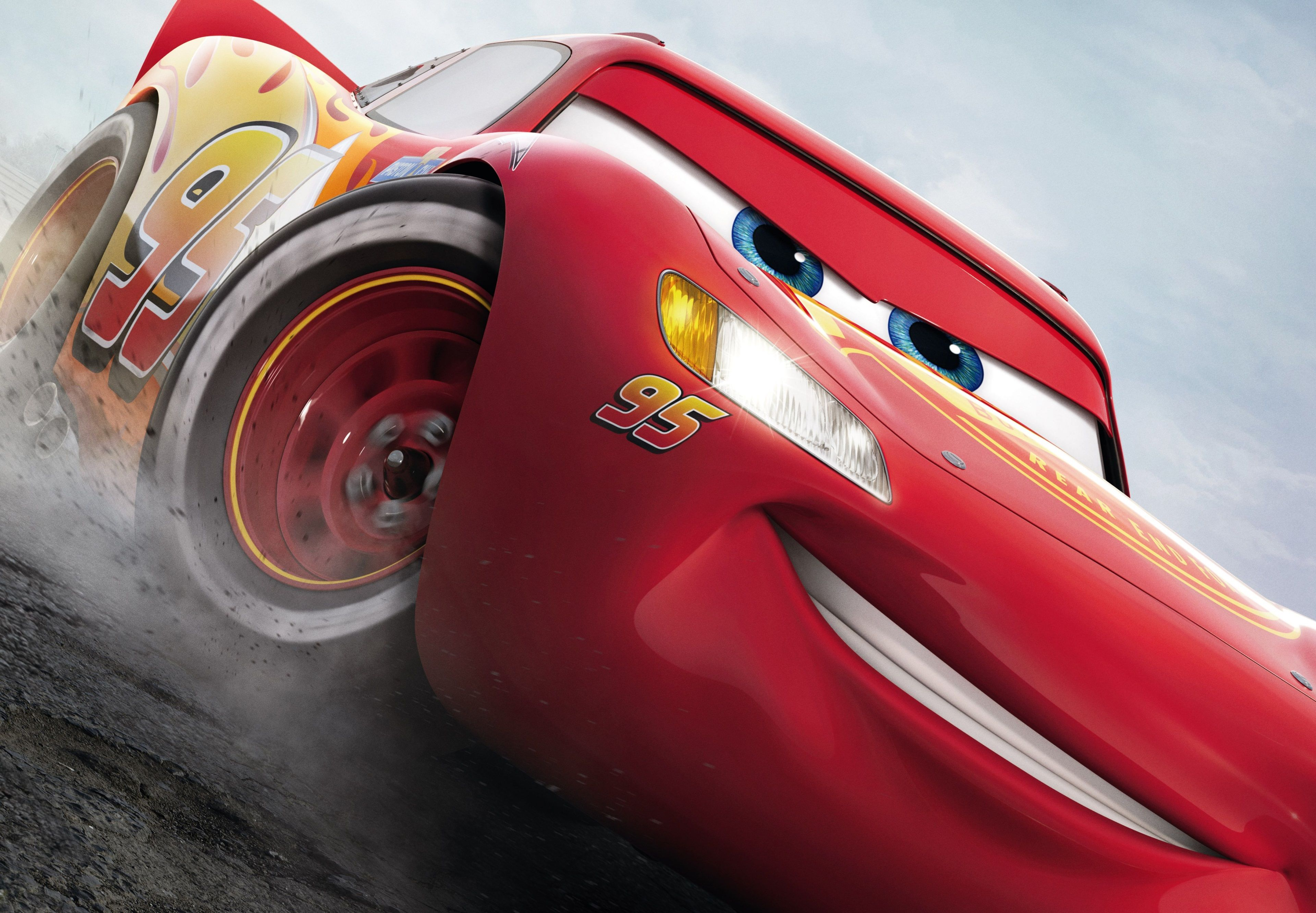 3840x2664 Lightning Mcqueen 4k Backgrounds For Desktop Hd