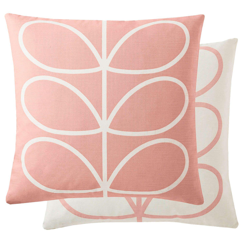 Orla kiely linear stem cushion multi living room ideas