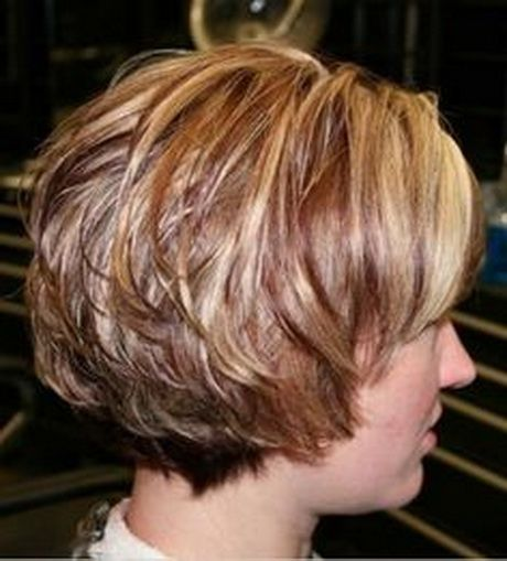 Short Haircuts Front And Back View Short Hair With Layers Hair Styles Short Layered Bob Hairstyles